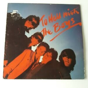 The Boys - To Hell With - Vinyl LP + Song Book UK 1st Press A1/B1 EX+