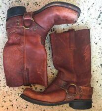 Frye Boots Biker Engineer Lederschuhe Lederstiefel Vintage Rockabilly 43/44