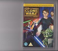 STAR WARS CLONE WARS SERIES 1 VOLUME 1 DVD KIDS 5 EPISODES