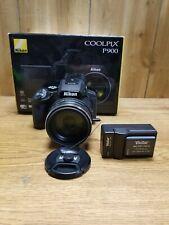 Nikon COOLPIX P900 16MP Digital Camera w/ 83x Wide 4.3-357mm f/2.8-6.5 Lens