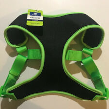 Top Paw Comfort Harness. Size XL, Black/Green
