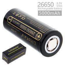 LiitoKala 26650 3.7V 5000mAh lii-50A Li-ion Rechargeable Battery for Flashlights