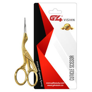 G4 Finger Toe Nail Scissors Curved Manicure Cuticle Scissors Steel Stainless