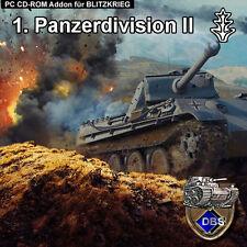 Blitzkrieg addon 1. Panzer Division II
