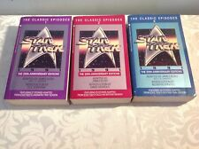 Star Trek the classic episodes 1991 25th anniversary edition books 1-3