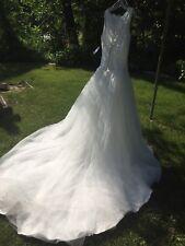 NEW Christian Michele Lace Ivory wedding dress size 8 unaltered