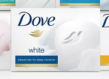 Dove White Travel Size Bar Soap With Moisturizing Cream 75g 1 Bar Each