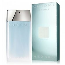 Chrome Sport By Azzaro Men 3.3 3.4 OZ 100 ML Eau De Toilette Spray Nib Sealed