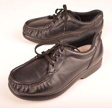 SAS Women's Shoes Take Time Black Comfort Leather Tripad Comfort Size 6 WW