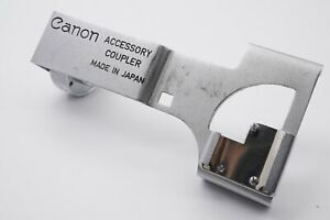 [RARE! Near MINT] Canon Accessory Coupler For Canon 7 Rangefinder From Japan