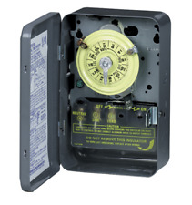 Intermatic T101 24 Hour Industrial Grade Indoor Mechanical Time Switch 120v SPST