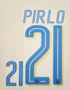 2014/16 Italy National EURO 2016  #21 Pirlo Soccer Away Name Set