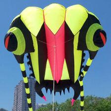 3D 10 Sqm greem 1 Line Stunt Parafoil Trilobites POWER Sport Kite outdoor toy