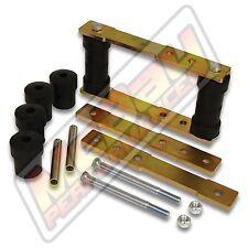 "Adjustable 1"" 2"" 3"" 4"" Rear Shackle Lift Kit 67-75 Camaro Firebird 62-78 Nova"