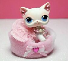 For Littlest Pet Shop Custom Accessories Collar Bed Outfit Clothes No Lps