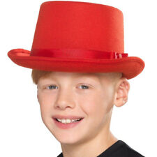 Kids Child Top Hat Dance Magician Victorian Reenactment Fancy Funny Dress #N6C