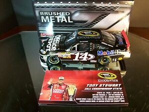 Tony Stewart #14 Office Depot Brushed Metal 2011 Champion Chevrolet Impala DIN17