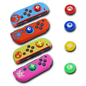 For NS Switch Joystick Caps Silicone Case Cover Skin Protector Accessories
