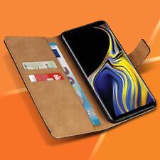 Handyhülle für Samsung Galaxy Note 9 Schutzhülle Tasche Leder Flip Case Cover