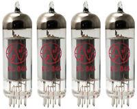 Matched Quad JJ/Tesla EL844 vacuum tube reduced power EL84