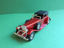 "Matchbox Lesney Models of Yesteryear N°Y-4 1930 Model ""J"" Duesenberg town car"