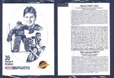 1986-87 Kraft Vancouver Canucks Team in Cello Packs (10)