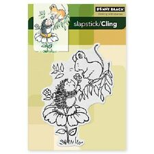 PENNY BLACK RUBBER STAMPS SLAPSTICK CLING FROM ME TO YOU NEW cling STAMP