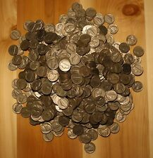 1953-S JEFFERSON NICKEL ROLL (40 COINS) CIRCULATED NICE COINS CHECK OUT STORE