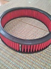 "Red Air Filter For 9"" x 2"" Air Cleaner Spectre Oil Reuse Clean hpr2606"