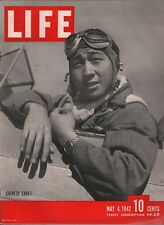 Life May 4 1942 WWII Chinese Cadet Malta Bombing Vintage Advertisement 081619AME