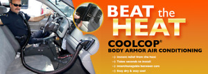 Cool Cop Body Armor Air Conditioning / Heat System  / Dodge Charger