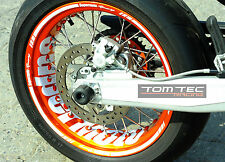Autocollant Pour Jante De Supermoto KTM SMC 690 LC4 660 625 SMR EXC 450 R