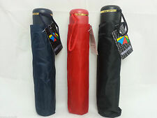 1PC Men Women Super Mini Compact Folding Handbag Umbrella Brolly Black Red Blue