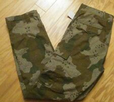 LEVIS CHINO CAMO CAMOUFLAGE SLIM STRAIGHT CARGO ZIP-FLY LIGHT WEIGHT PANTS 36X34