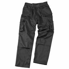 Pantalons noirs en polyester pour garçon de 2 à 16 ans
