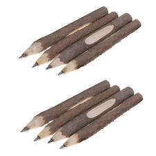 Wood Pencils Rustic Pencils Set of 3 colored pencils Gift Set Tree Branch Pencils Handmade Rustic Wooden Natural Twig Pencils