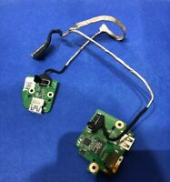 Dell Inspiron 17R 5720 USB + Ethernet LAN Board F15HR DA0R09PC6F1 PW9W2 W/ Cable
