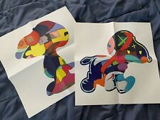 Kaws Ngv No One's Home & Stay Steady Snoopy Peanuts Posters