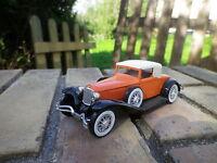 SOLIDO AGE D'OR 4080:  CORD L 29 coupé spider orange foncé, comme neuve sans box