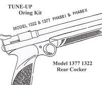 TUNE-UP O-RING SEAL KIT for Crosman 1377 1322 Model Rear Cocker