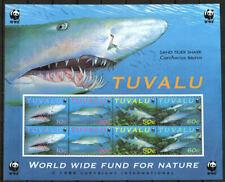 Tuvalu Stamp - Sand Tiger Shark--WWF Stamp - NH