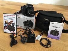 Canon EOS 600D /  18.0MP Digital SLR Camera - Black (Kit w/ EF-S IS II…