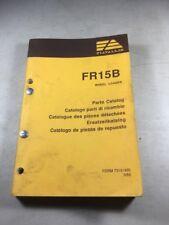 Fiat Allis Fr15b Wheel Loader Parts Catalog