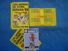 STYLE PANINI : HB SCHELE ESPANA 82 / 1 BIG PACKET BUSTINA POCHETTE TUTE FOOTBALL