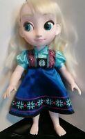 Disney Store - Animator Toddler Doll - Elsa From Frozen  - 15in