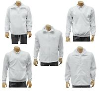 CATHEDRAL Arcticfleece Jumper Jacket Top Mens Bowls Polyester Fleece White 2019