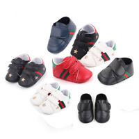 Toddler Baby Shoes Girl Boy Soft Crib Infant Prewalker Babe 0-18 Months Newborn