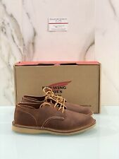 Red Wing Lace-Up Man Oxford Red Maple 03306 IN Suede Man 43.5