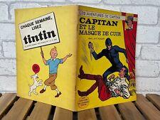 RARE EO // CAPITAN ET LE MASQUE DE CUIR // FUNCKEN 1967 B++ // TINTIN 12
