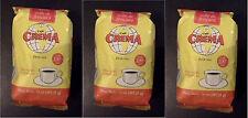 Crema Brand Coffee from Puerto Rico,  3 bags ground coffee, 14oz - WWS